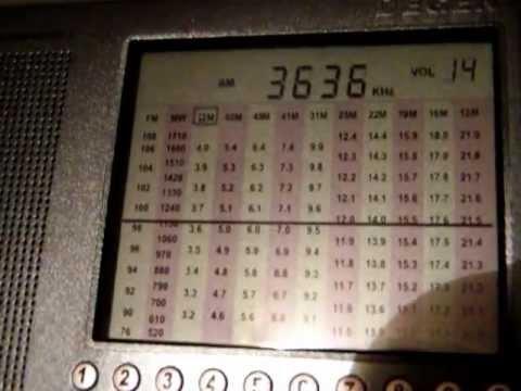 Ламповый радиоприёмник на любительский КВ диапазон