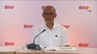 【新加坡大选】马善高:若面对指控 行动党准候选人必须证明自己