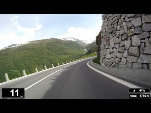 Indoor Cycling Training: Furkapass (Suisse / Alps) - in full length!!! (Part 3/3)