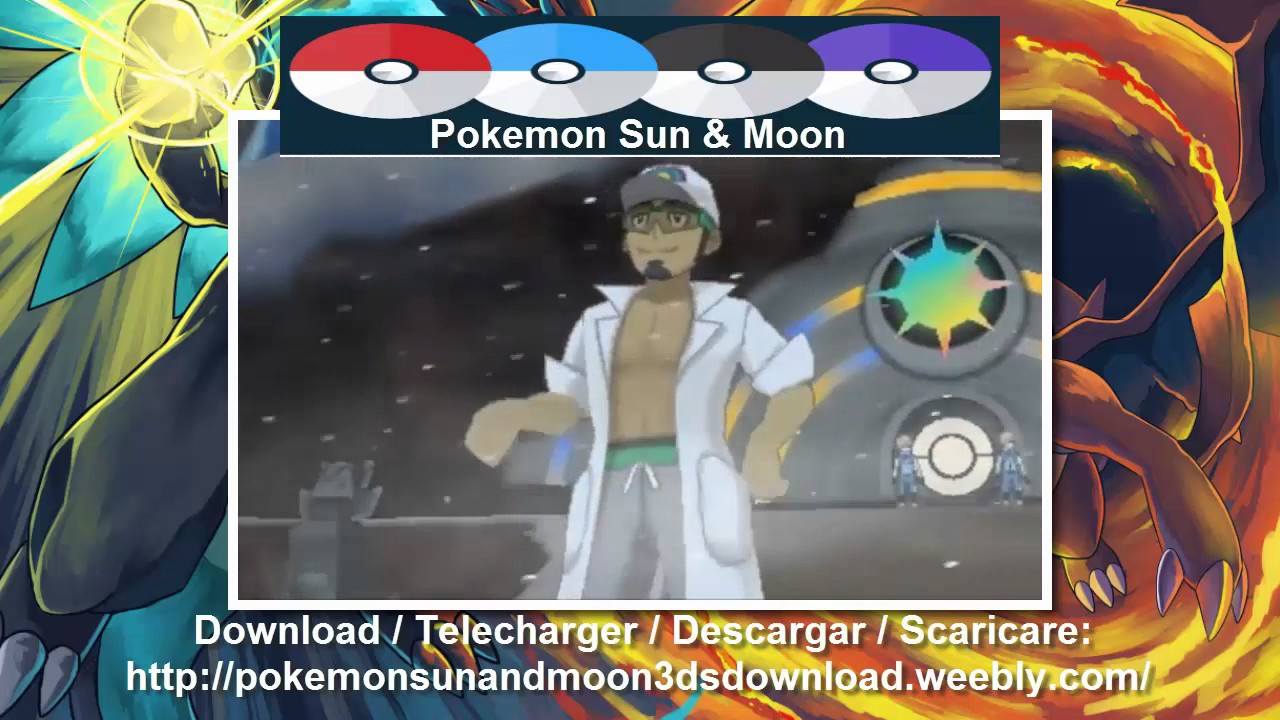 Pokemon Mond Rom
