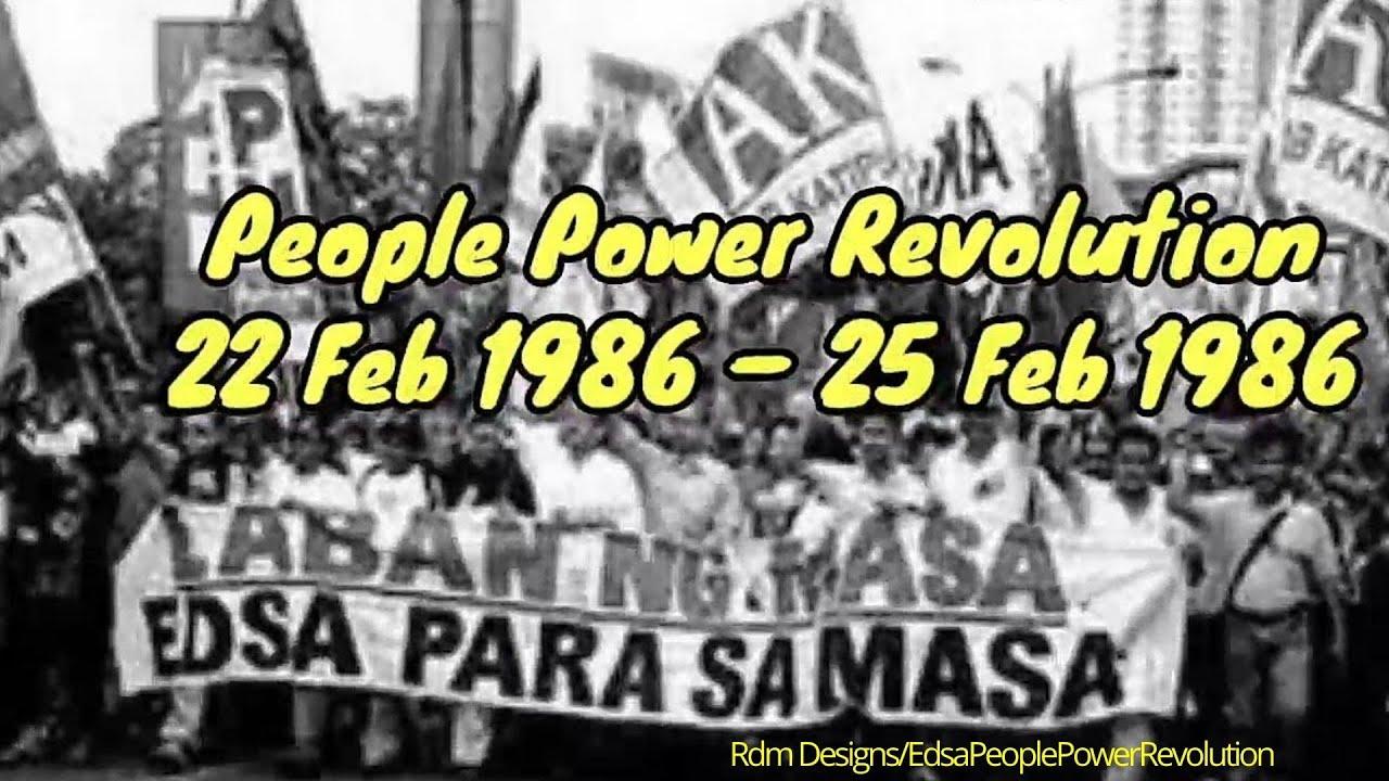 Edsa Revolution 1986 Documentary | Edsa People Power Revolution - Feb 22 -  Feb 25, 1986 - YouTube