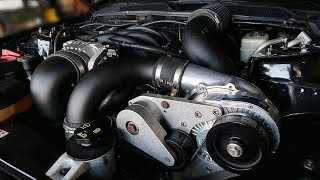 How to install a Procharger centrifugal supercharger (05-10 4.6L Mustang GT)(Step by Step)