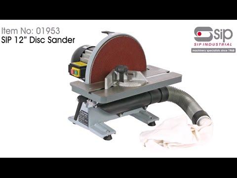 SIP 12 Inch Disc Sander