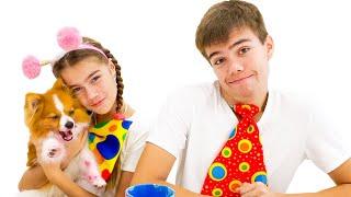 Nastya and Animal Stories for Kids