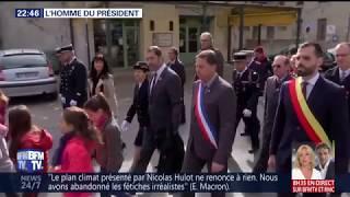 L'homme du président Macron (portrait de Christophe Castaner - BFMTV, 15 novembre 2017)
