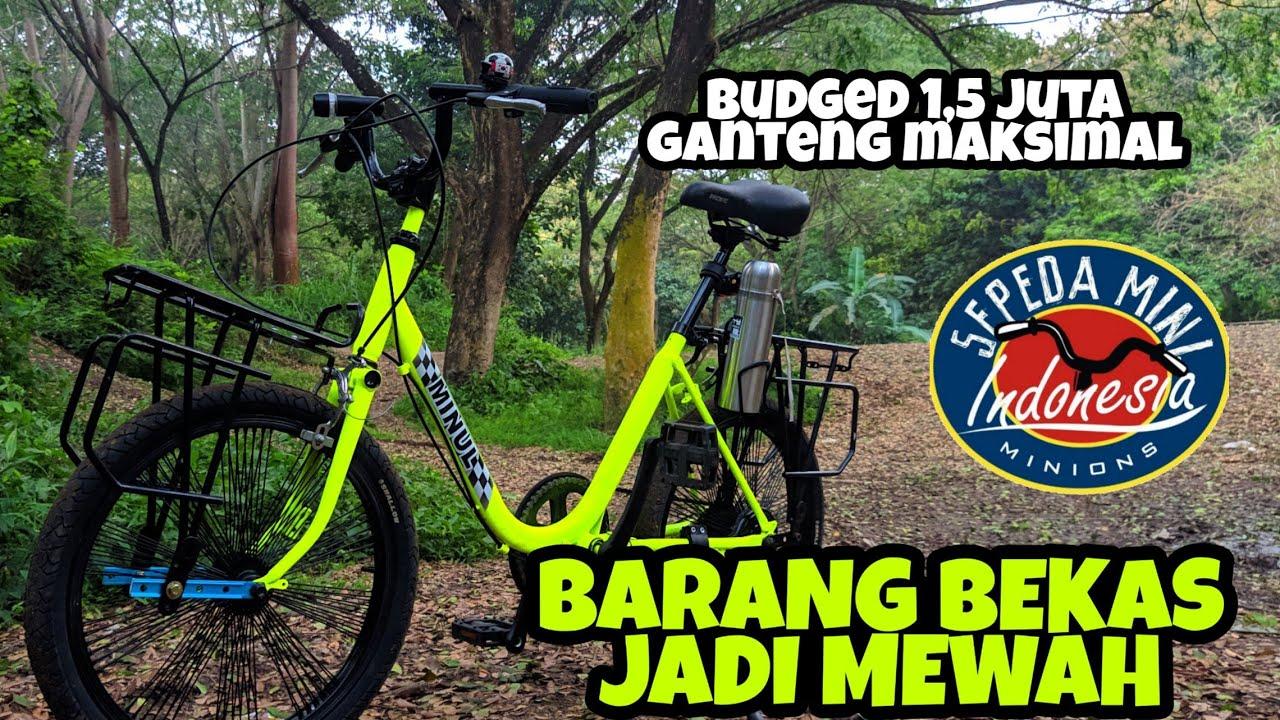 Merakit Sepeda Mini Jadi Minion Youtube
