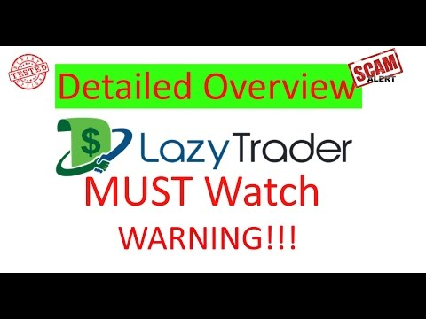 Lazy Trader WOW review binary options trading Scam Alert