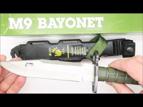 Final Year - 1997 Buck 188 Civilian M9 Bayonet Combat Military Knife