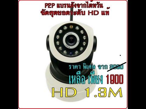วิธีติดตั้งกล้องIP Camera P2P