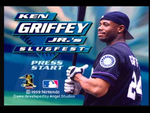 8edd6a87cd Ken Griffey Jr.'s Slugfest OST - Title Screen Music (N64) - YouTube