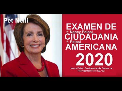 Examen De Ciudadania Americana 2020 Spanish 100 Preguntas Y Repuetas Updated Youtube
