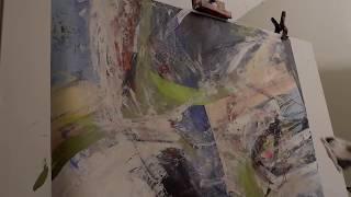 Cheryl Johnson Artist Studio Visit 3 2018 Painting