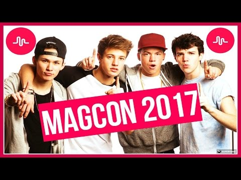 MAGCON 2017 Best Musical.lys | Musical.ly Compliations