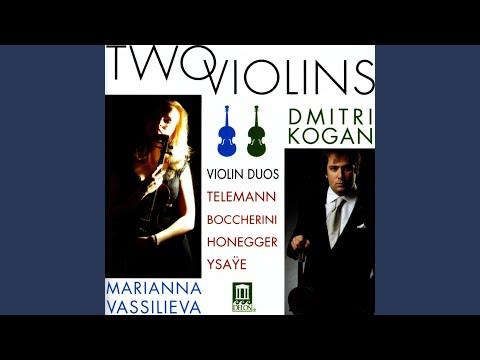 Sonatina for 2 Violins, H. 29: III. Allegro moderato