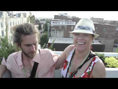 Christine Elise and Miles MIller on first discovering the Sidewalk Film Festival
