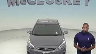 R98524TR Used 2017 Hyundai Accent SE FWD 4D Hatchback Gray Test Drive, Review, For Sale -