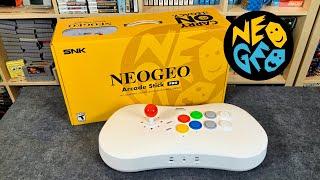 ** NEW** NEOGEO Arcade Stick Pro - Unboxing & REVIEW