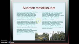 Suomen metallikaudet