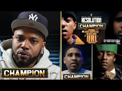CHAMPION | MATH HOFFA GIVES ADVICE ON CASSIDY VS GOODZ - SMACK/URL