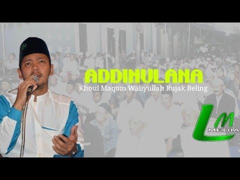 LANTUNAN MUTIARA -Addinulana | Ust. Muna Ft.Daffi | Khaul Waliyullah Rujak Beling