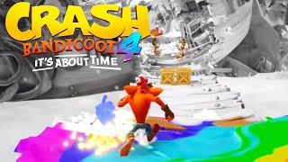 Crash Bandicoot 4: It's About Time - New Gameplay Flashback Challenge