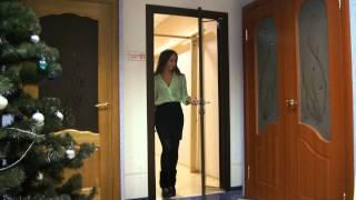 видео Роторные двери с механизмом