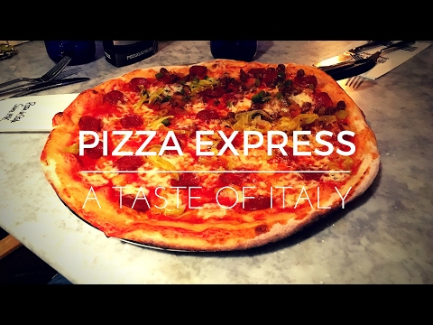Pizza Express Review | Dough Balls | Romana Pizza | Vanilla Cheesecake