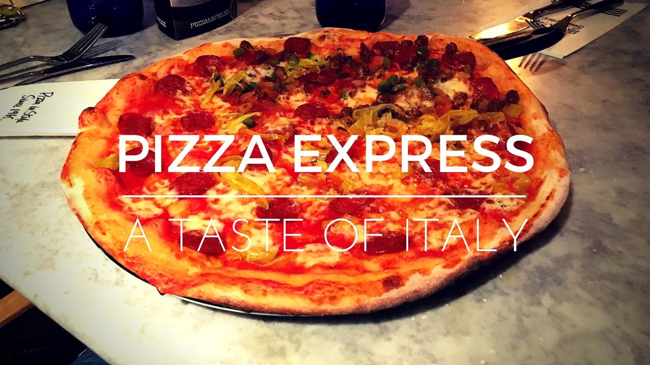 Pizza Express Review Dough Balls Romana Pizza Vanilla Cheesecake