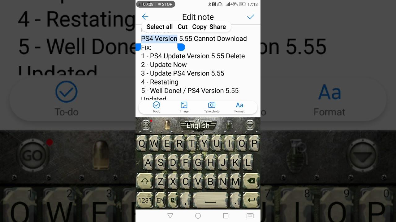 ps4 version 6.00 herunterladen nicht möglich