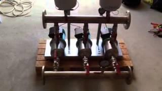 видео насосная установка hydro multi