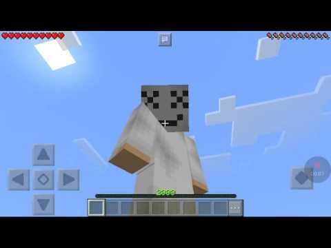 Marshmello Minecraft Skin YouTube - Skin para minecraft pe de marshmello