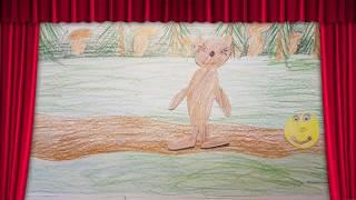 Мультфільм ''Колобок'' створений дітьми під керівництвом вчителя -логопеда Фоміної Т. В.