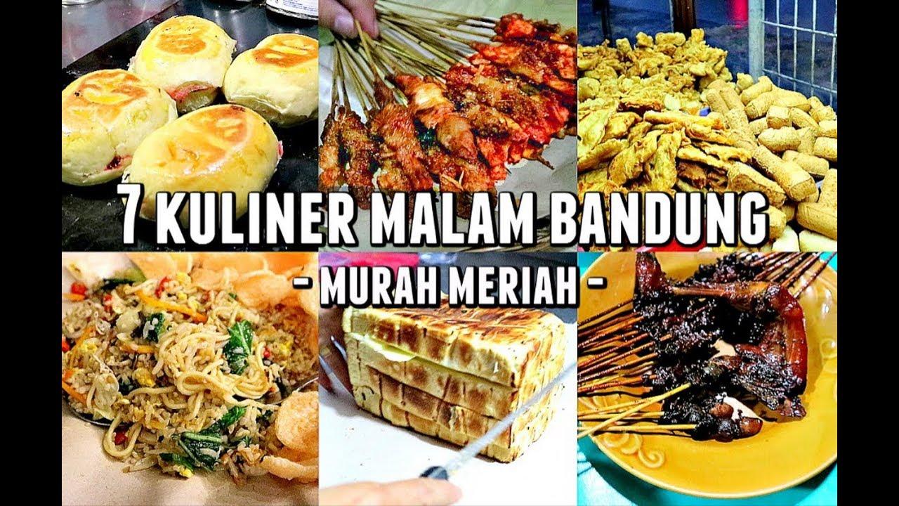 7 Kuliner Malam Bandung Wajib
