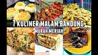 7 Kuliner Malam Bandung (wajib)