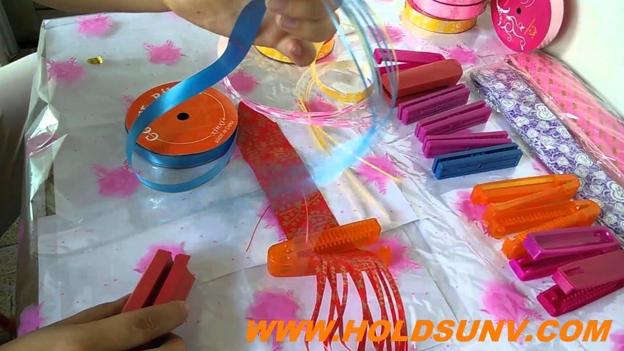 ribbon shredder and curler tools youtube