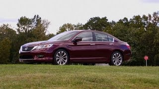 2013 Honda Accord first drive Consumer Reports