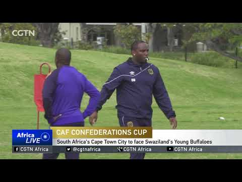 South Africa's Cape town city to face Swaziland's Young Buffaloes in CAF Confederations Cup