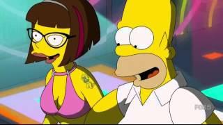 The Simpsons -  Big City (Spacemen 3 song )  scene
