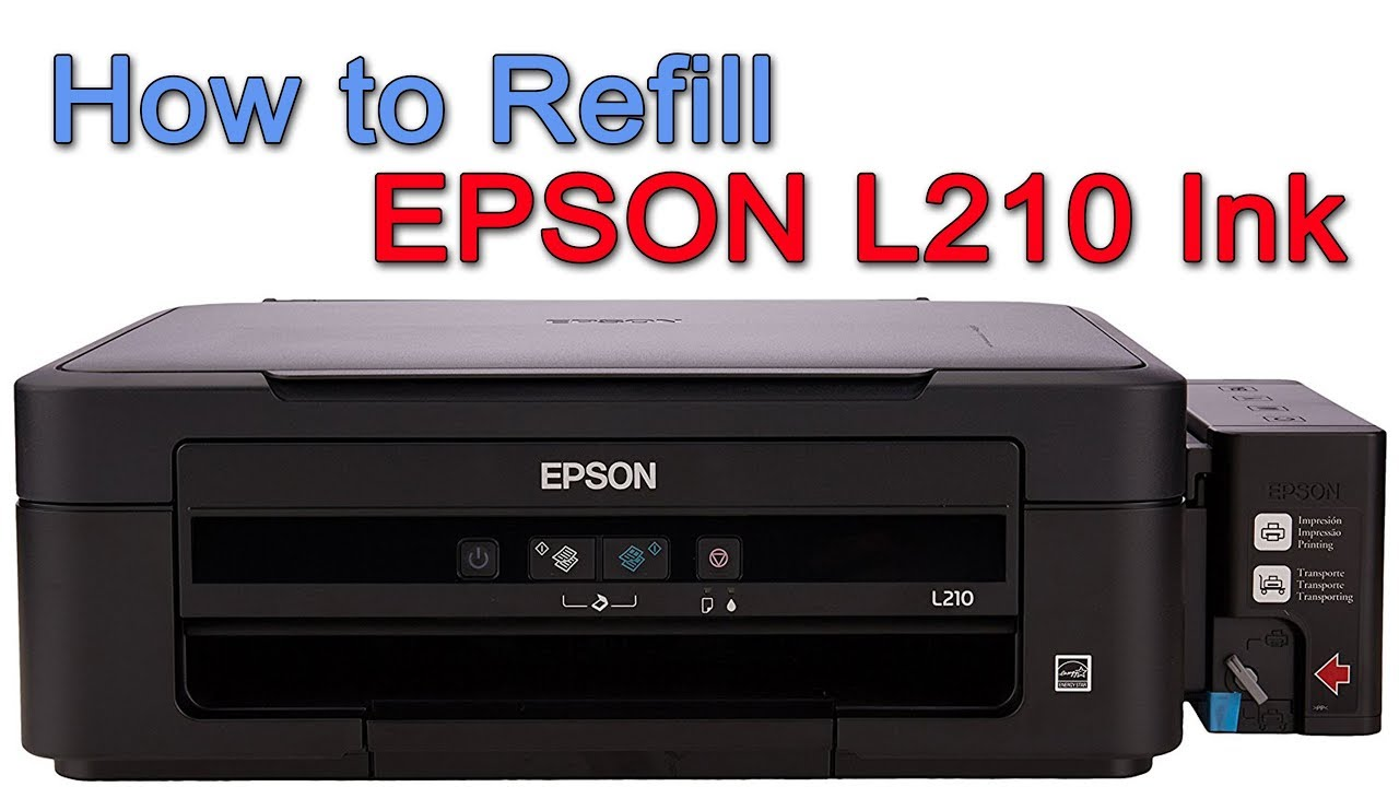 how to refill epson l210 printer ink youtube rh youtube com Install Printer Epson L210 Printer Ink Tank System