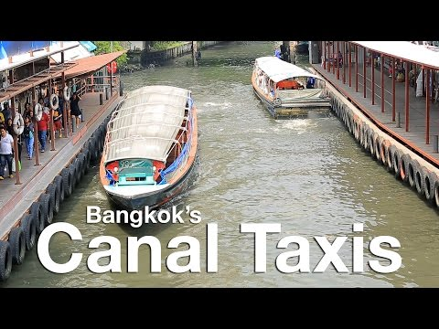 Guide to Bangkok Canal Taxi System
