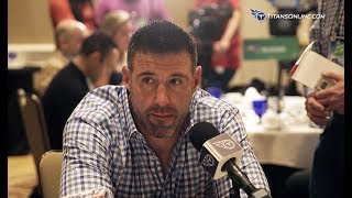 Mike Vrabel's Media Session at NFL Owners Meetings