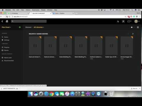 Media Solution using Dropbox and Plex - Best Solution