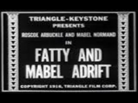 1916 Fatty Arbuckle Fatty And Mabel Adrift