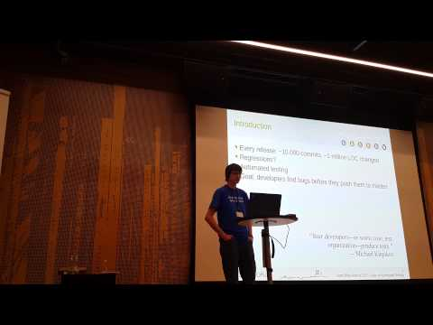 LibreOffice Aarhus 2015:Michael Stahl State of automated testing - Development