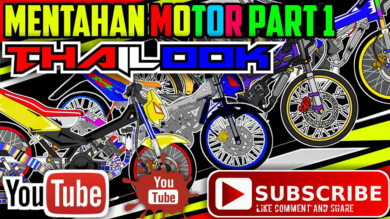 Mentahan Thailook Motor Part 1 1 4 Youtube