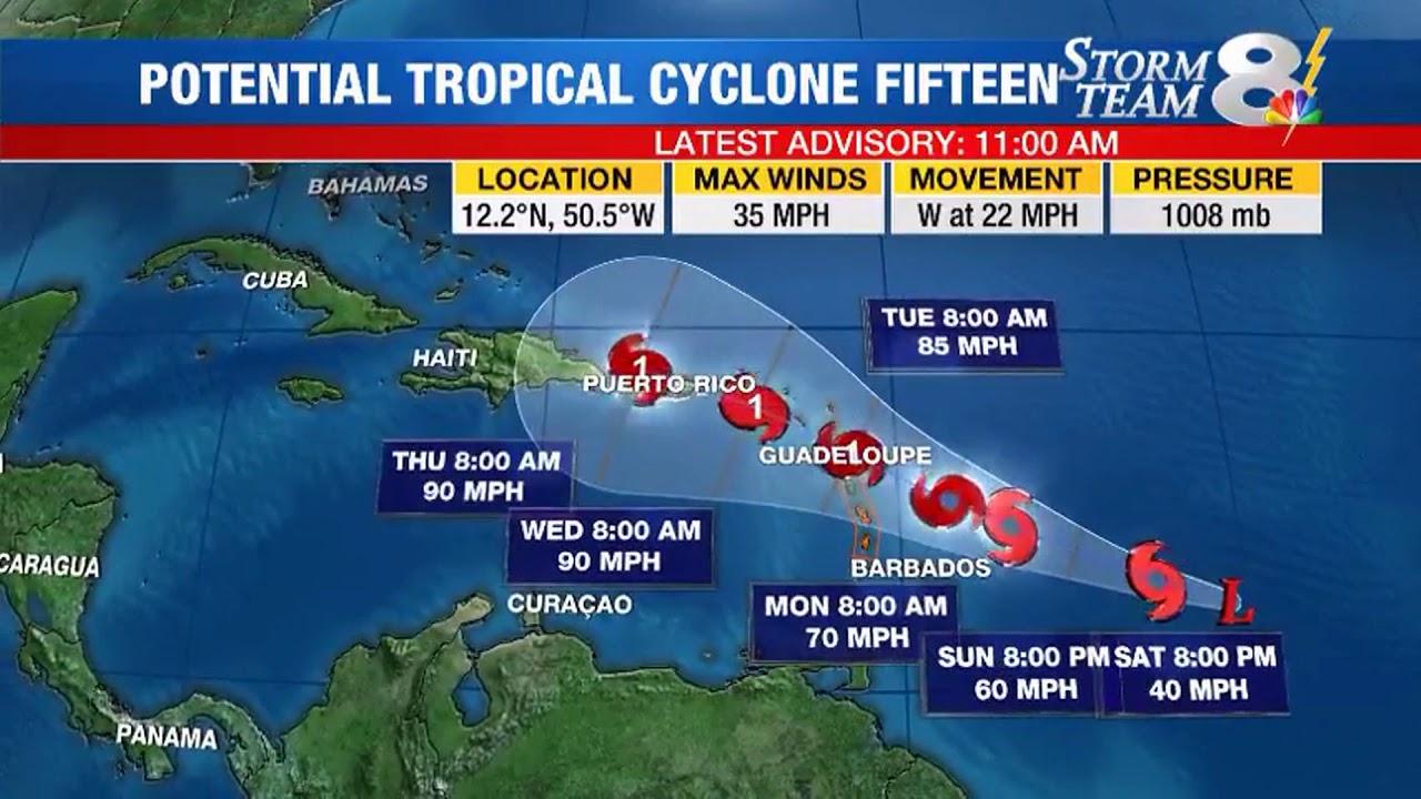 Hurricane Jose Lee Amp Tropical Cyclone 15 Forecast Doovi