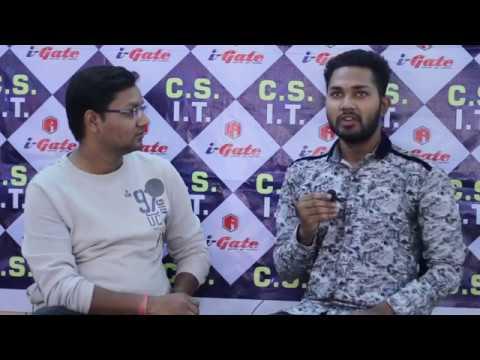 Abhishek Singh AIR-414 GATE 2018 Computer Science Result | i-Gate Bhilai Toppers