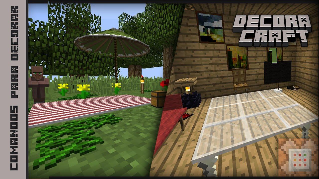 Decoraciones sin mods comando 1 2 3 minecraft - Decoraciones para minecraft sin mods ...