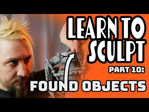 Sculpey 101 Class 10 (Found Objects & Paint)