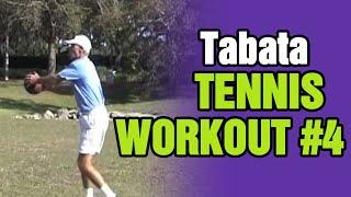 Tennis Workouts - Tabata Tennis Workout #4